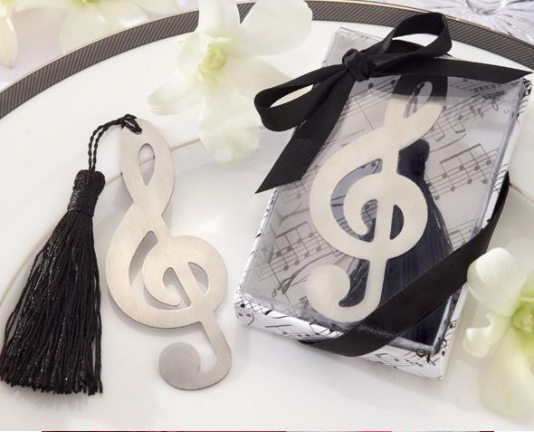Musical Note Bookmark Favor Wedding Party Supplies Wedding