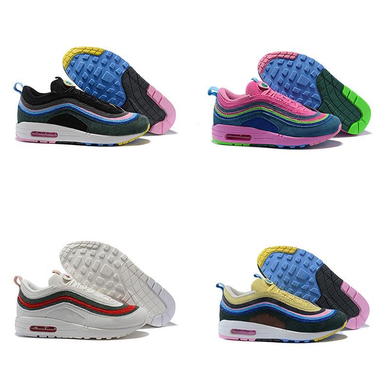 best service 46a4b 9f66f Mizuno Scarpe Running 2018 Nuovi Colori 97 1 Sean Wotherspoon Hybrid Mens  Designer Scarpe Da Corsa Sportive Uomo Sneakers Scarpe Da Ginnastica Casual  Di ...