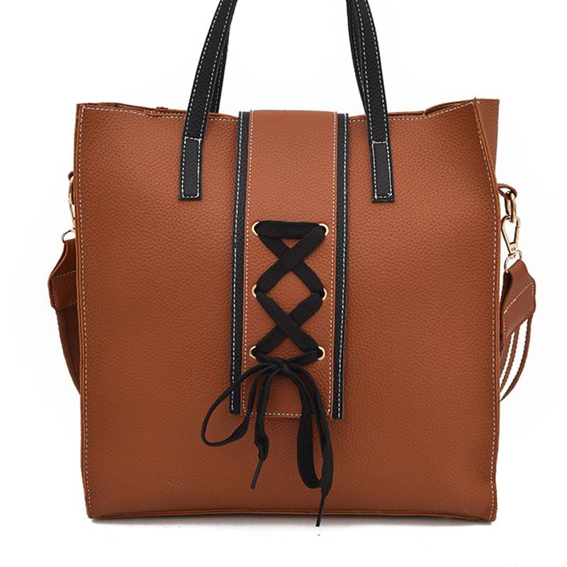 5b4bfcea5d22 Women Bag Female Handbags Leather Over Shoulder Bag Crossbody Handbag 2018  Hot Sale Fringe Casual Solid Big Shopper Tote Bags Handbag Wholesale Hobo  Purses ...