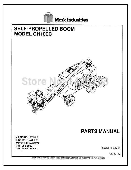 Mark Lift Workshop Manual And Parts Manuals: Marklift Wiring Diagrams At Jornalmilenio.com
