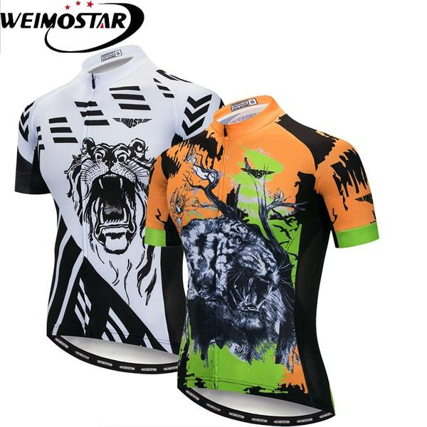 Cycling Jersey Men Top Team Pro Racing Riding Shirt Ropa Ciclismo 2018  Summer Short Sleeve Bike Bicycle Jersey Leopard Moto Shirts Tee T Shirts  From ... e12b27d2a