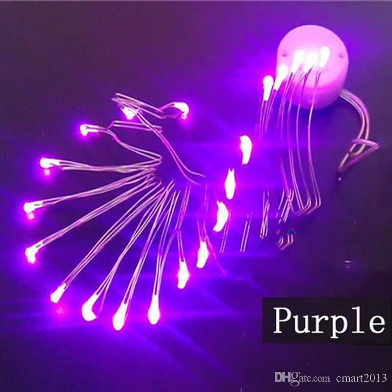 / das geführte Schnurlicht batteriebetriebene Schnurlichter für Weinrebenvasenhochzeitsfestdekorationen 7 blinkt, färbt wasserdichte Schnüre