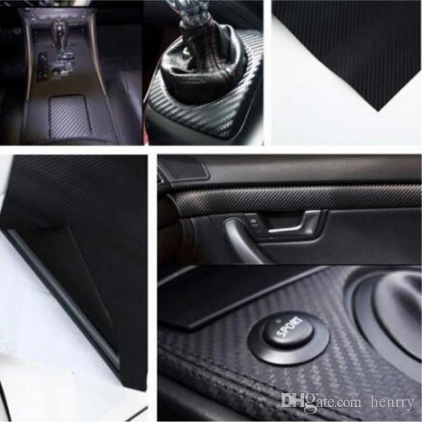 127CM*20CM 3D Color Modification Film Car Interior Vehicle Color Change Paste Carbon Fiber Color Change Sticker