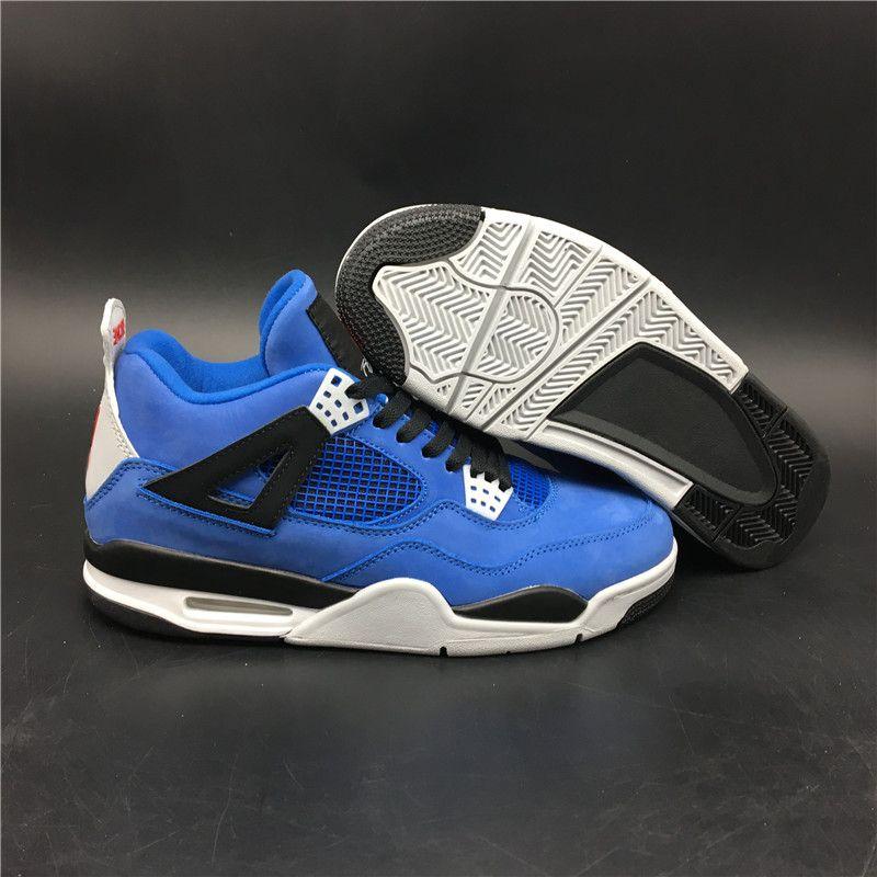 9624725041aeb6 With Box 4 IV Eminem Blue Encore Flight Shoes Air Cushion Basketball Shoes  Men Sports Sneakers 4s Undefeated Flight Sneakers US7 12 Basketball Games  Tennis ...