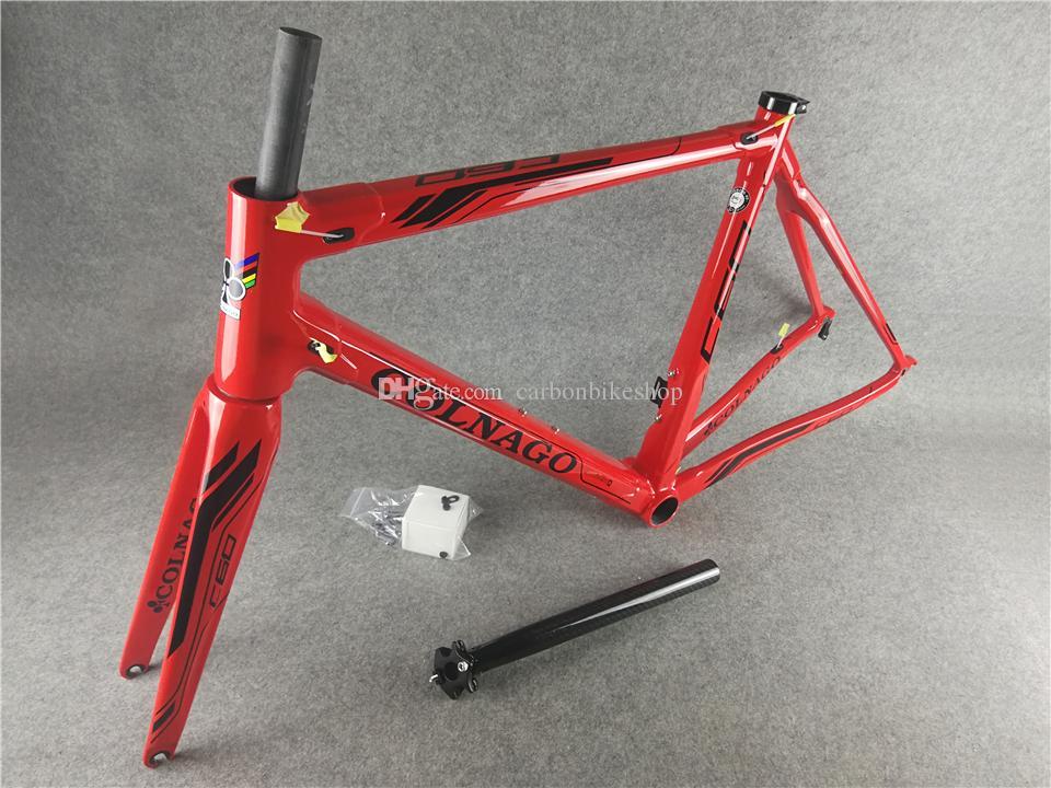 Black logo Red model T1000 3K/UD road bike C60 carbon road frames with XS/S/M/L BB386