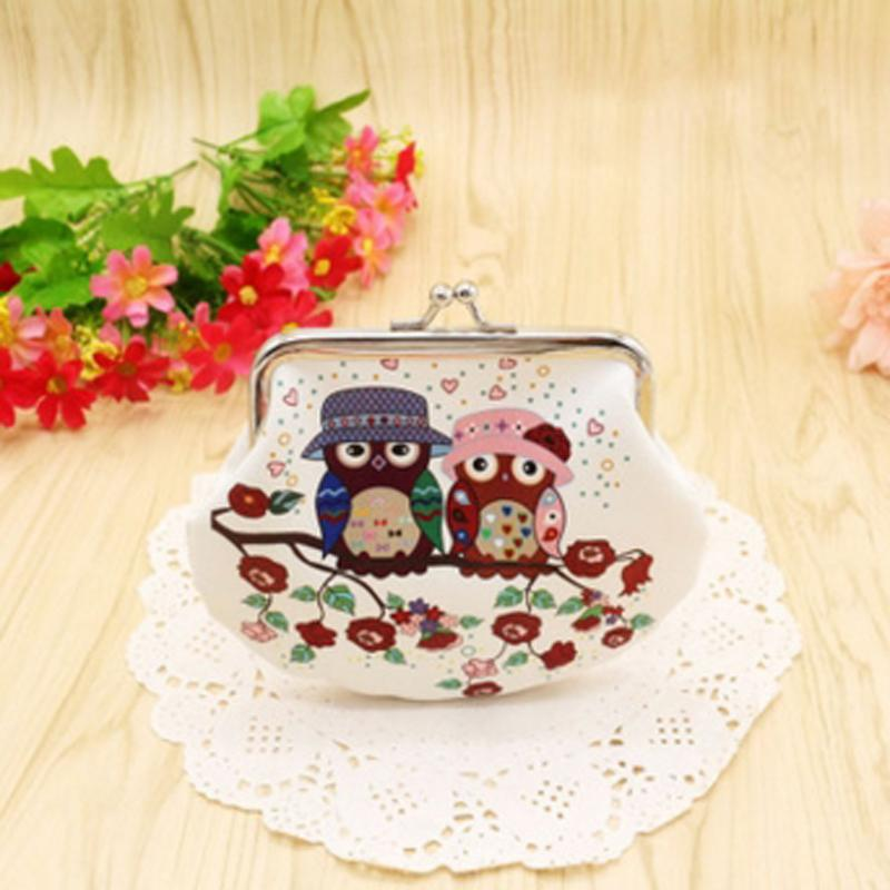 Coin Purses & Holders Hot Fashion Novelty Women Lady Retro Vintage Owl Small Wallet Hasp Purse Clutch Bag Pu Leather Coin Purses Femme