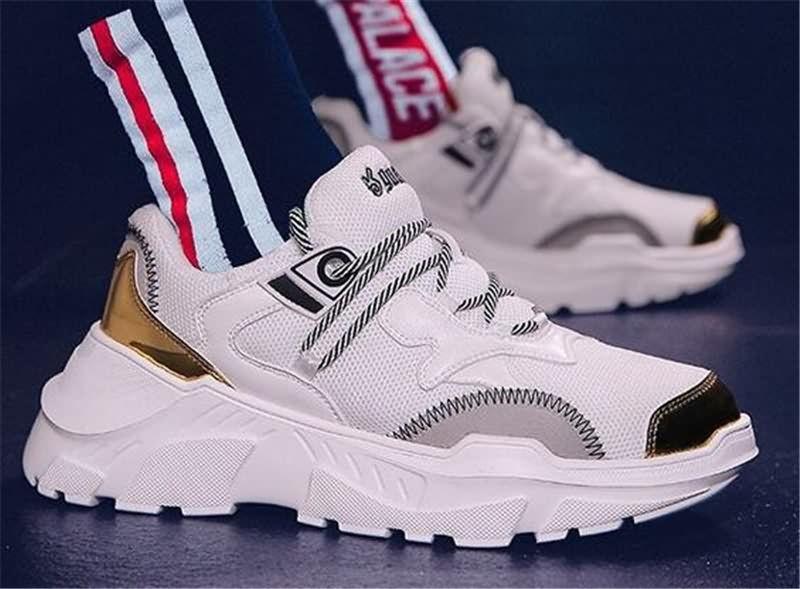 f3e89d48fc4a0b 2018 White Mens Fashion Outdoor Sport Trainers Man Designer Shoes ...