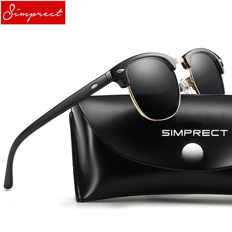 SIMPRECT 2018 Sunglasses Men Retro Square Mirror Sun Glasses Brand Designer  High Quality Fashion Vintage Lunette Soleil Homme Sunglasses Cheap  Sunglasses ... 9c44b1497a84