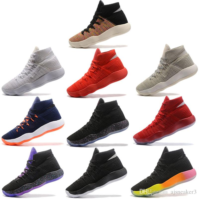 9f863f26a 2019 Hyper 2017 Dunk Fly Knitting Basketball Shoes Designer New Look Men  Trainer Sports Sneakers With Best Quality Size 40 46 From Ajsneaker3