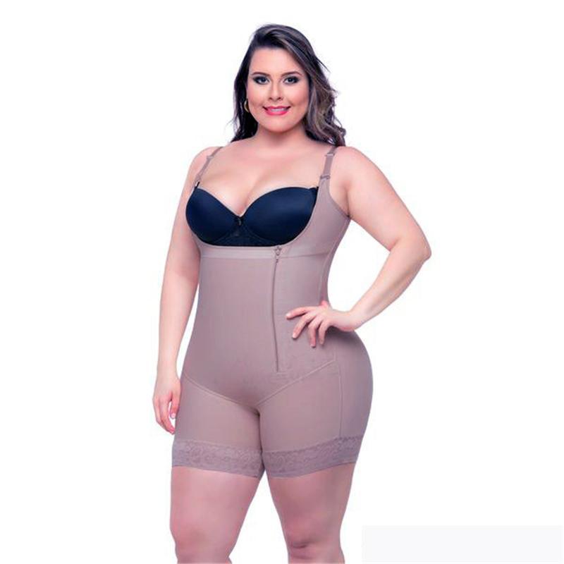 becf5490754 2019 Plus Size 6XL Slimming Bodysuit Women Butt Lifting Open Crotch Shaper  Underwear Waist Trainer Lady Modeling Strap Hot Shapewear From Dalivid, ...