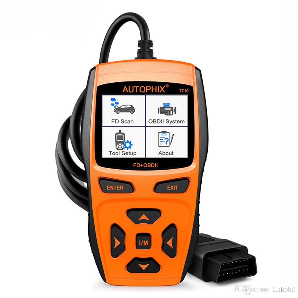 Autophix 7710 OBD2 Scanner Fault Code Reader EPB ABS SRS Airbag Oil Service  Reset Automotive Diagnostic Tool for Ford