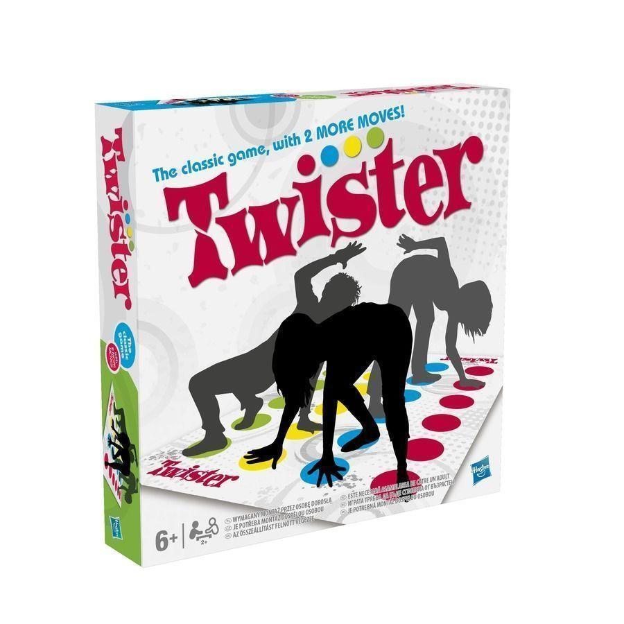 2018 Funny Twister The Classic Game With 2 More Moves Hasbro Family