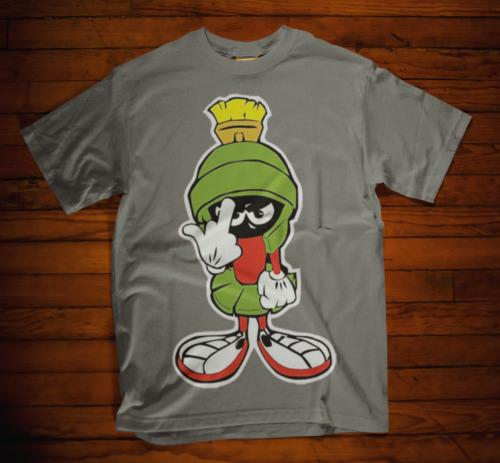 0dbf47b8d99d MARVIN THE MARTIAN T SHIRT PRESENT ATTITUDE UNISEX MENS TEE RETRO GREY Rude  Tshirts Offensive Tee Shirts From Lifeiscrap