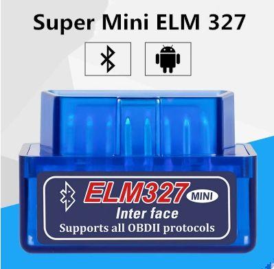 Elm327 Super Mini ELM 327 V2.1 Factory Outlets Bluetooth OBDII ELM327 Version2.1 Trabajo con Android Torque