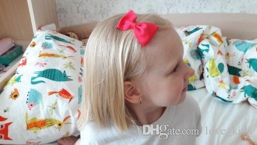 baby girls kids hair bow boutique alligator clip grosgrain ribbon bowknot hairband for kids girls hair accessories