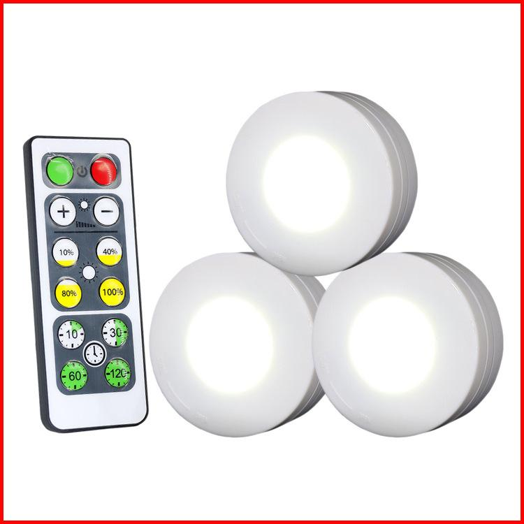 1w 3 Packed Led Night Light Remote Controlled Closet Lights Super