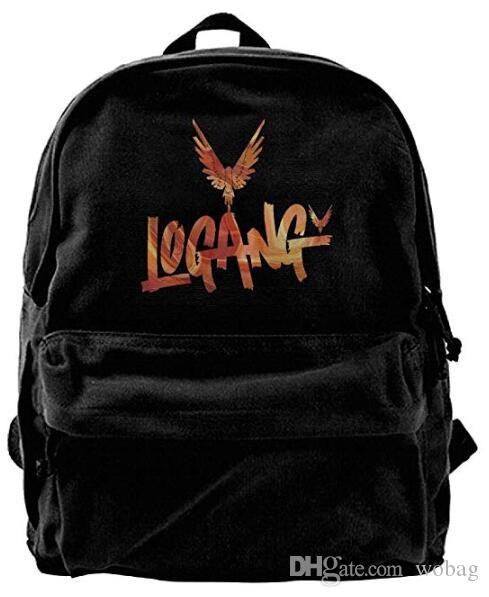 28f12b3914e9 Logan Paul Logang YouTube Followers Parrot 95 Canvas Shoulder Backpack  Backpack For Men   Women Teens College Travel Daypack Black Best Laptop  Backpack ...