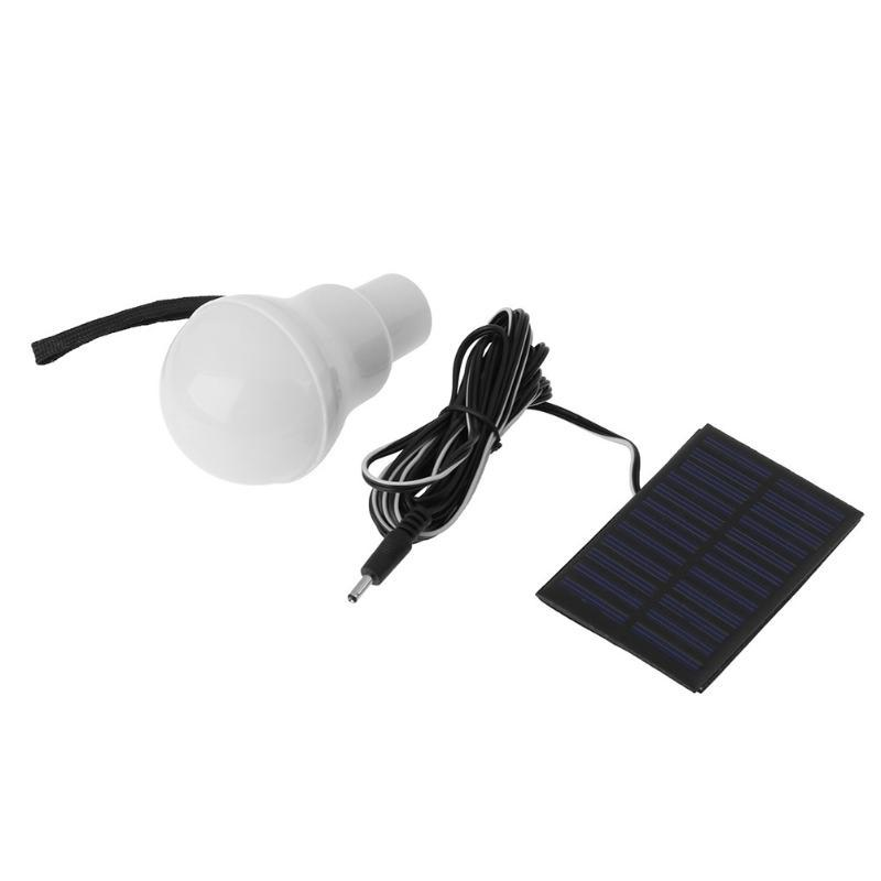 Useful 3W Portable Led Bulb Camping Light Charged Solar Night Lamp Home Outdoor Commercial Garden Illumination Energy Saving