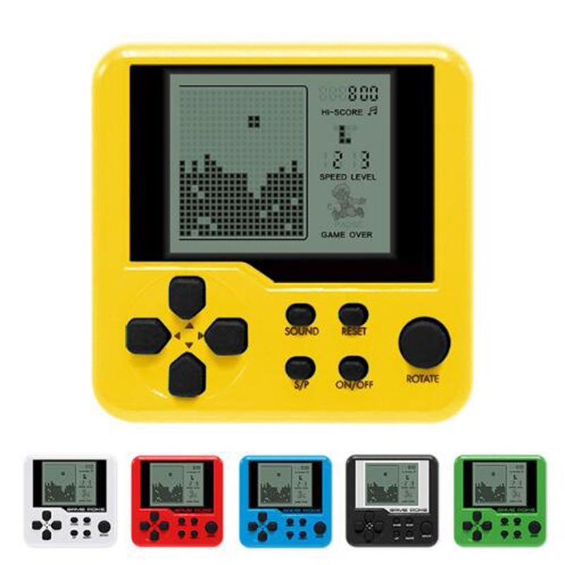 Compre Tetris Game Consola De Juegos Portatil Para Ninos Electronic