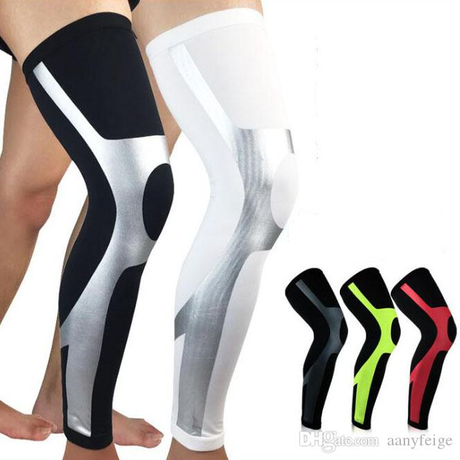 a2eeec2ecf 2019 Calf Compression Sleeve Basketball Football Soccer Leg Shin Guards  Protective Calf Sleeves Cycling Running Knee Pads Accessories From  Aanyfeige, ...