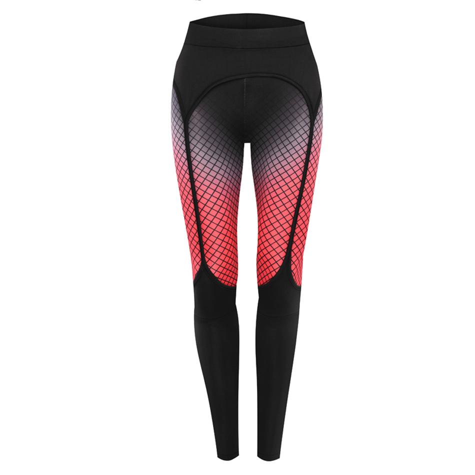 Neue Mode Sexy Printed Leggings Frauen Fitness Kleidung Beute Push Up Strumpfband Muster Leggins Sporthose