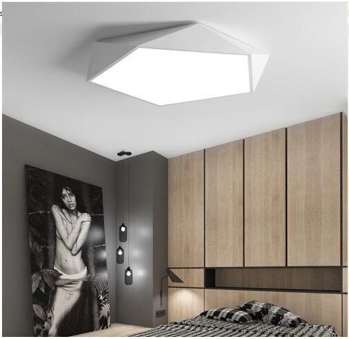 Beautiful 2019 Creative Geometric Art Led Lighting Ceiling Lamp For Sitting Room Lamp  Study Corridor Balcony Ceiling Lighting From Cindan, $33.39 | DHgate.Com