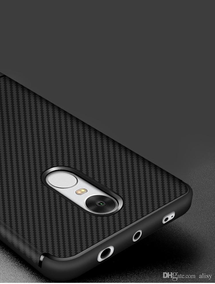 Custodia in fibra di carbonio Xiaomi Custodia Redmi Note 4x Slim Redmi Note 4x Anti Drop i