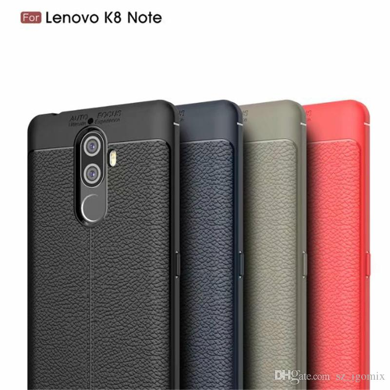 best authentic ccc0a 1d08e LZW Soft TPU Phone Case for LENOVO S5 K8 NOTE Lenovo K8 4 Colors Protect  Back Cover