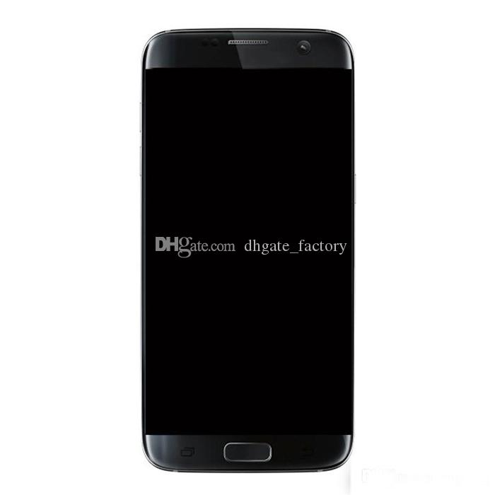 Display LCD per Samsung Galaxy S7 Edge G935 G935A G935D G935F Digitizer Assembly Sostituzione Cell Phone Touch Panel Spedizione nave