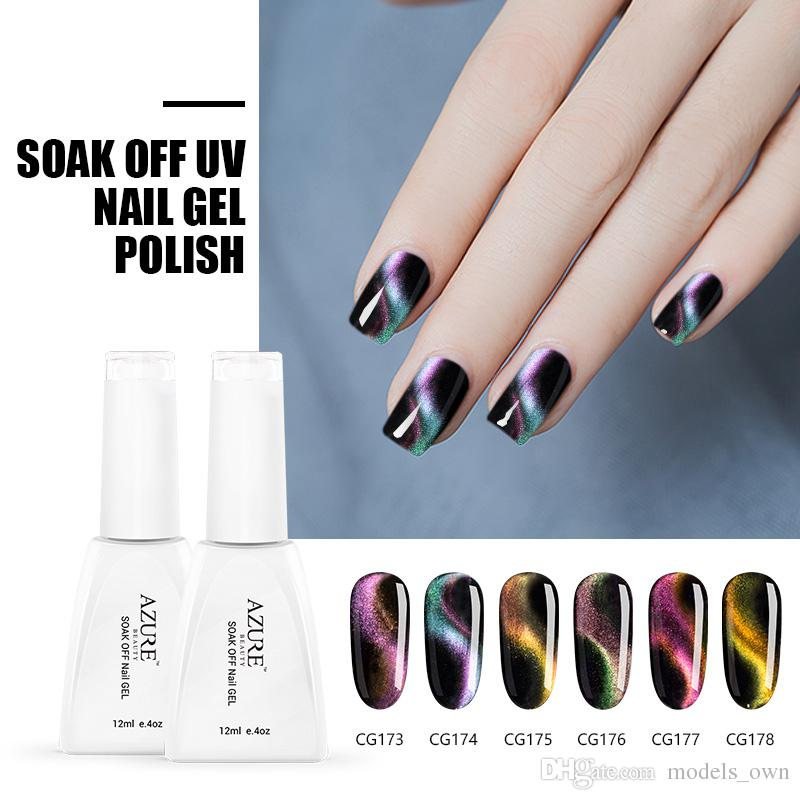 Azure Beauty Newest Chameleon Magnetic Nail Gel Polish 12ml For Nail