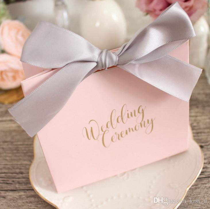 Paper Gift Box Candy Boxes Baby Shower Decorations Wedding Favors