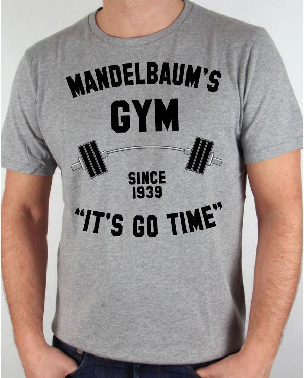 3abe7e46211 Seinfeld Mandelbaum S Gym It S Go Time Jerry Del Boca Vista Funny Grey T  Shirt T Shirt With A T Shirt On It Best Deal On T Shirts From Lijian51