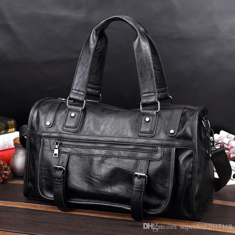 Top Quality Mens Luxury Designer Travel Luggage Bag Women Totes Leather  Handbag Duffle Bag 2019 Brand Fashion Luxury Designer Bags Satchel Handbags  ... 44780fe5434b3