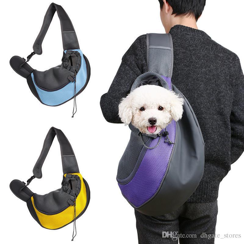 374b956e65 Kids Pet Bag Travel Bags Puppy Dog Cat Rabbit Kitten Carrier Cage Chest Bag  Packs Tote Mesh Net Shoulder Bag Backpacks One Strap Backpack For Kids  Backpack ...