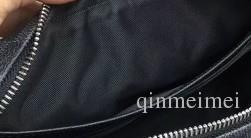 HOT SALE الجلد الحقيقي كاساي سوداء منقوشة رمادي اللون البني أحادية المعصمين النخيل مع رجل حقائب نسائية حقيبة الفاصل أكياس خيش أدوات الزينة