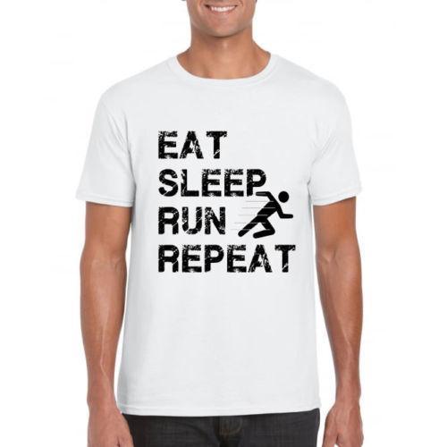 Run Running Marathon Men Birthday Gift Present Sport T Shirt