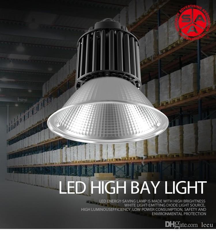 Led High Bay Licht 100W 150W 200W LED industrielle Lampe Stadium Werkstatt Licht Lagerhaus Fabrik Garage Lighting