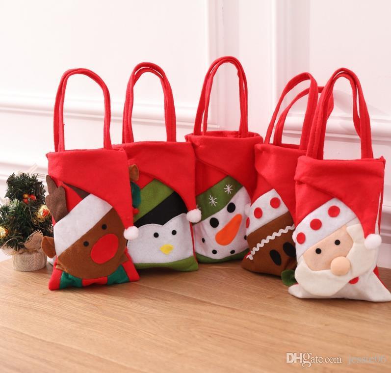 New Titulares Navidad De Year Holiday Mano Bolso De Regalo Compre De IXzZSxzq