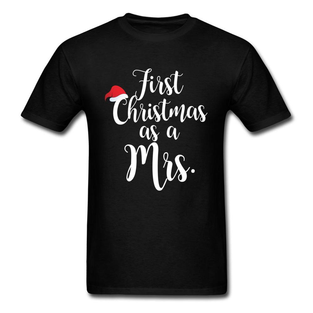 Großhandel Mein Erstes Weihnachten Als Ein Frau T Shirt Für Männer ...