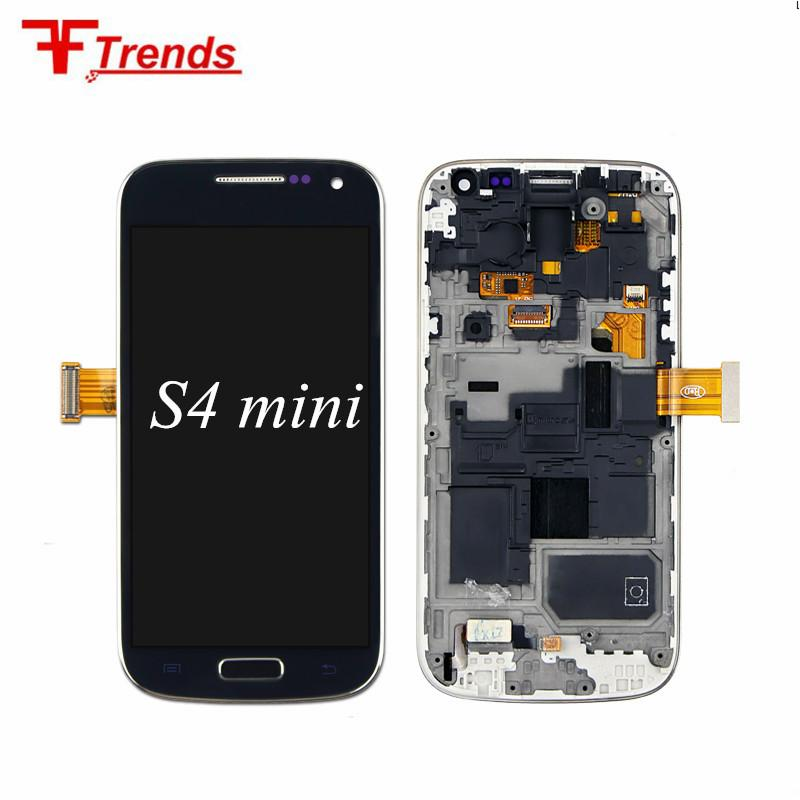 d75a5f33f14 Ips Movil 100% Amoled Para Samsung Galaxy S4 Mini LCD Display Assembly Pantalla  Táctil Digitalizador