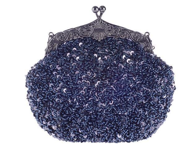 2018 novo das Mulheres Sacos de Ombro Do Vintage Estilo Frisado E Lantejoulas Saco de Noite Festa de Casamento Bolsa Bolsa de Embreagem + dom batom
