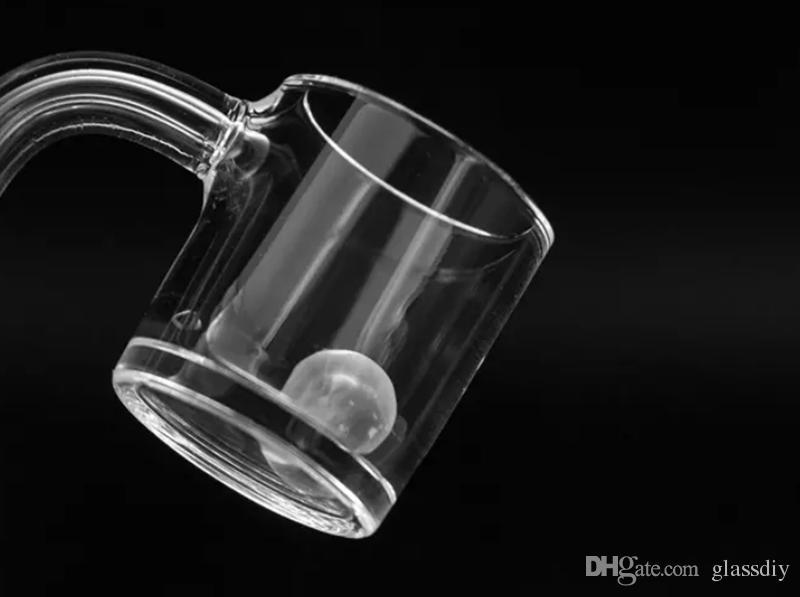 11.5mm Quartz terp perle perlée pour Domeless Quartz banger perles boule 10mm 14mm Joint Mâle Femelle pour bongs en verre pipes à eau Q01
