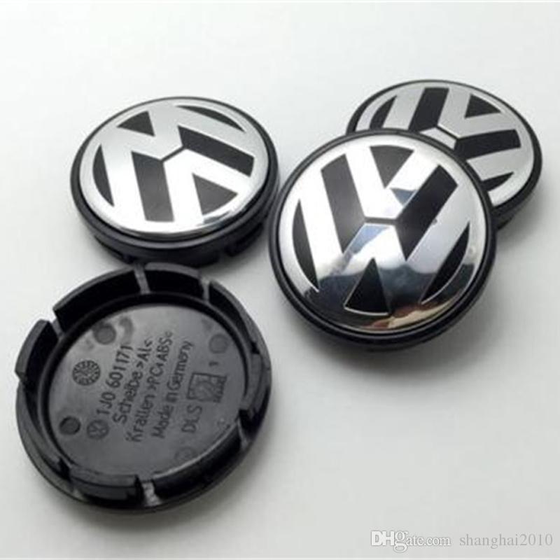 Hot Sale 65mm Car Wheel Cover Badge Wheel Hub VW Center Caps Emblem For VW 2010 TOUARET