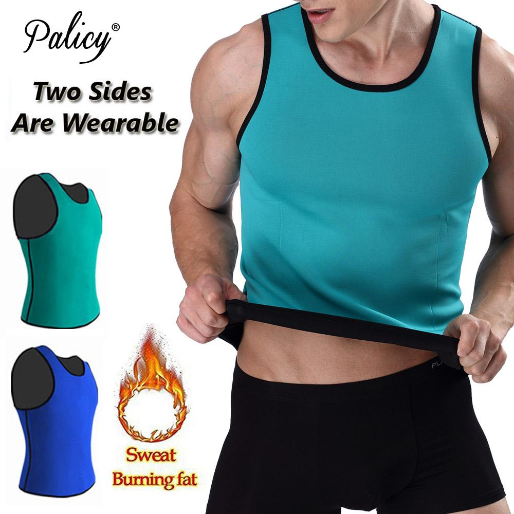 b4c820aec2 2018 Palicy Slimming Belt Belly Men Slimming Vest Body Shaper Man Neoprene  Thermo Tummy Shaperwear Waist Sweat Corset Weight Loss From Beenni