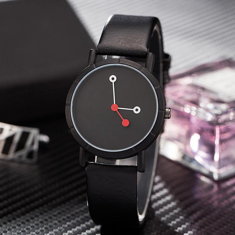78e83866e92 Compre Minimalista De Quartzo Mens Relógio De Luxo Moda Simples Relógios  Pretos Relógio Marca Masculino Relógios De Pulso Presentes Relogio  Masculino ...