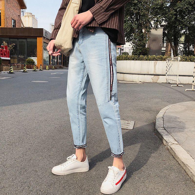 2019 2018 Summer Boys Trend Stripe Teen Fashion Classic ...