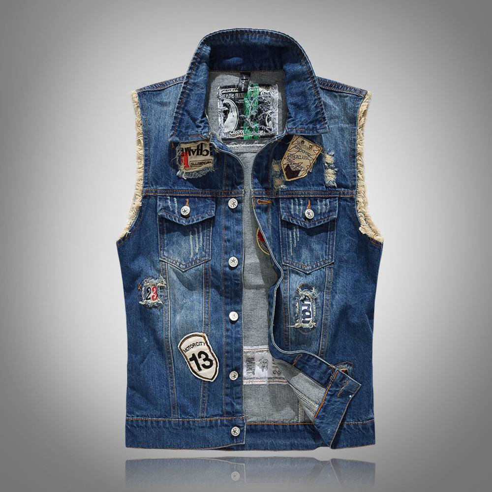 Fille Veste Blouson En Jeans Sans Manches Denim Manteau Gilet Jean Veste Cowboy Outwear Gilets Sans Manche Vêtements Manteaux Et Blousons Gilets Sans Manche