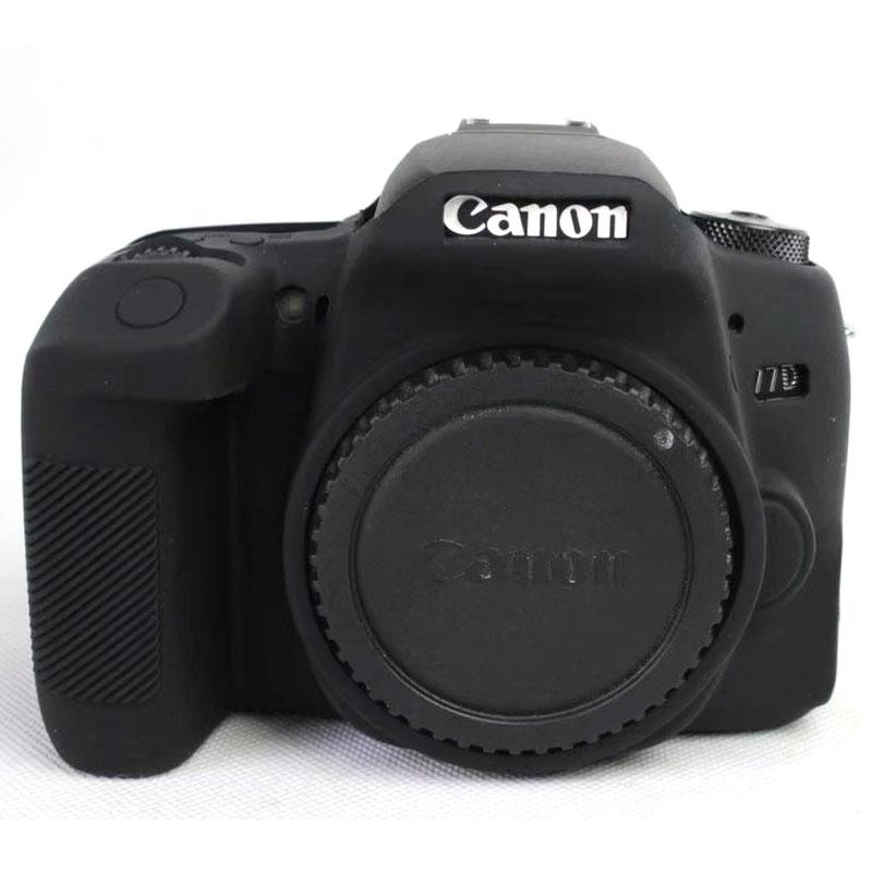 high quality colorful silicone camera cover for canon eos 77d soft
