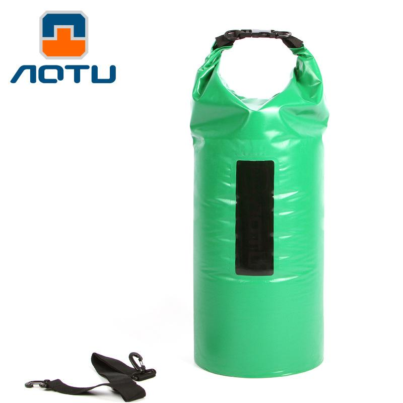 Portable Waterproof Dry Bags 40L Big Capacity Swimming Rafting Kayaking River Trekking Accessory Foldable Outdoor Waterproof Bag