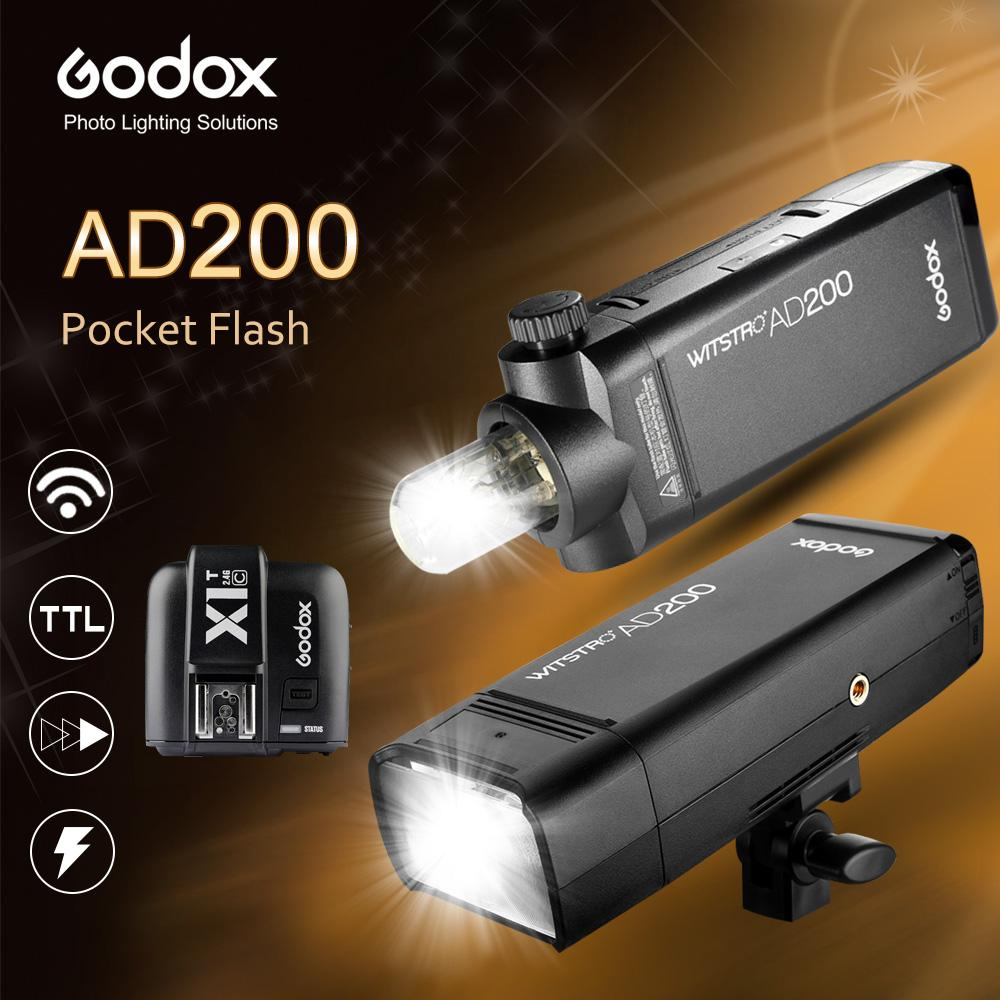 2018 Godox Ad200 200ws Gn60 Hss Pocket Flash X1 T V350s Ttl Camera Sony Transmitter For 3 Kind Of Brand C N S From Jessiety 57136